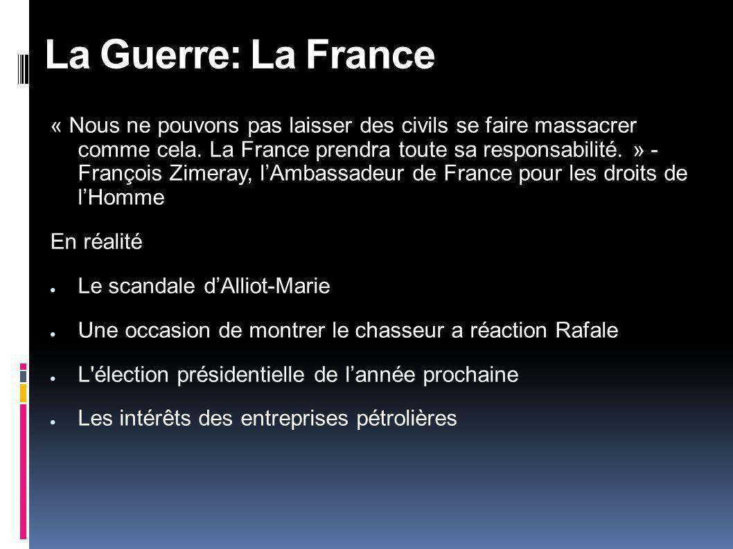 La Guerre: La France