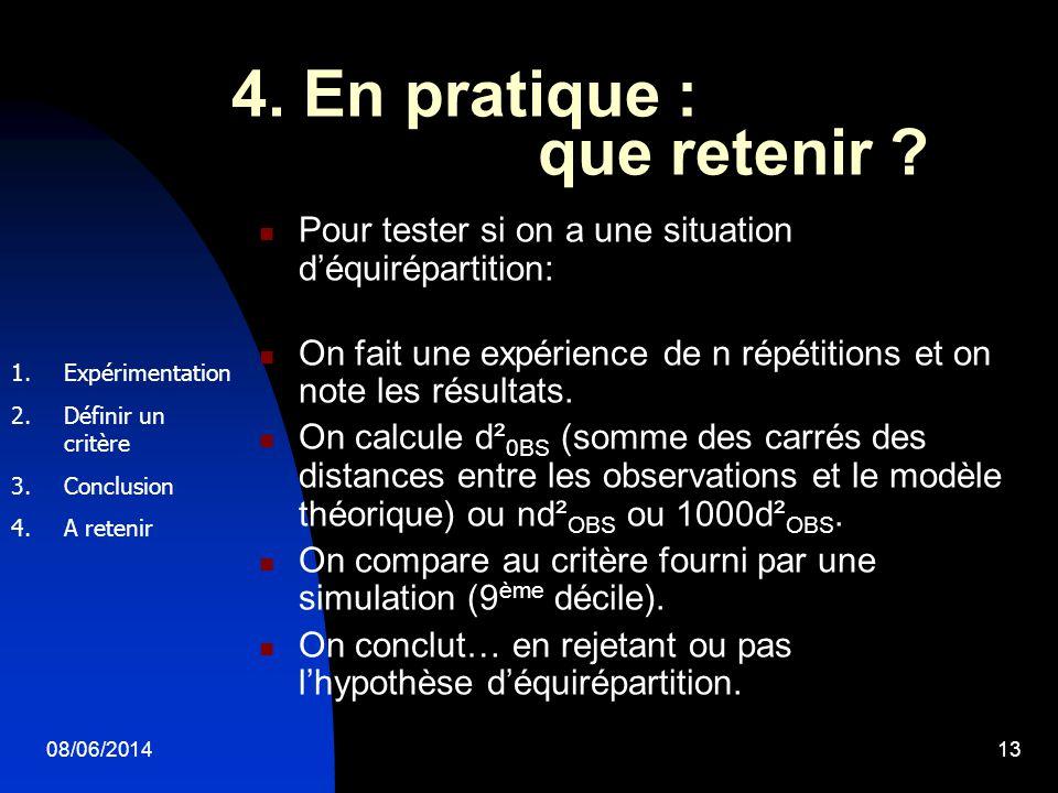 4. En pratique : que retenir