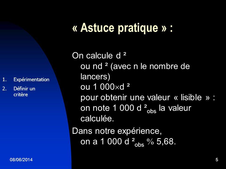 « Astuce pratique » :