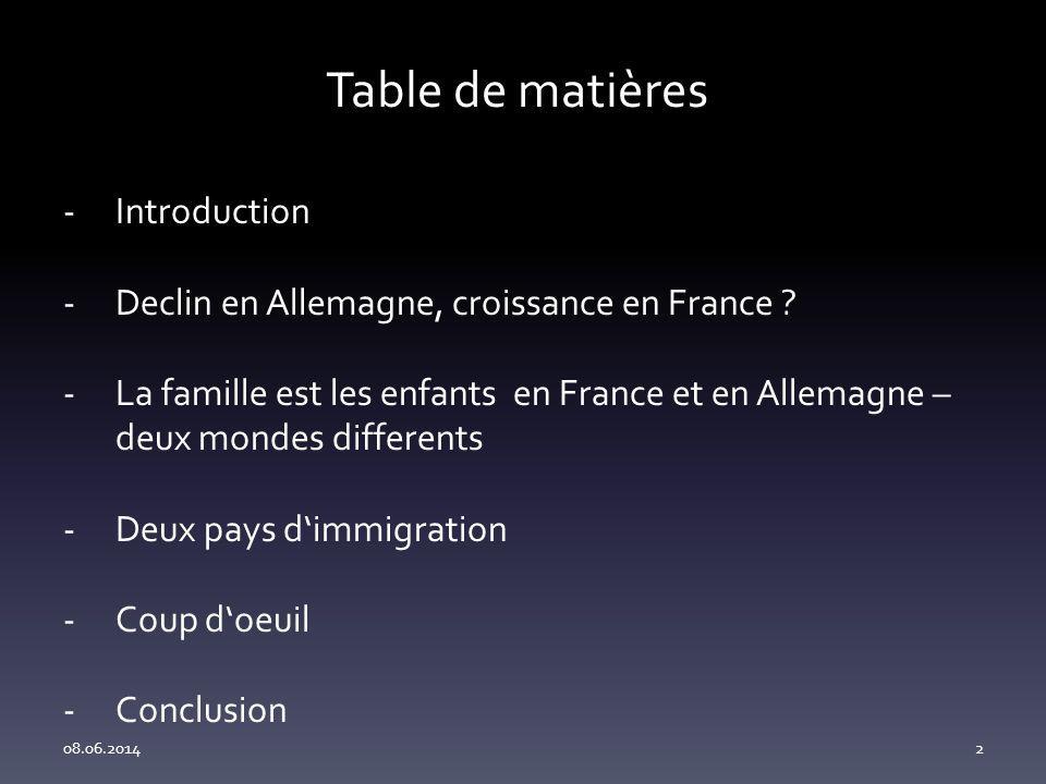 Table de matières Introduction