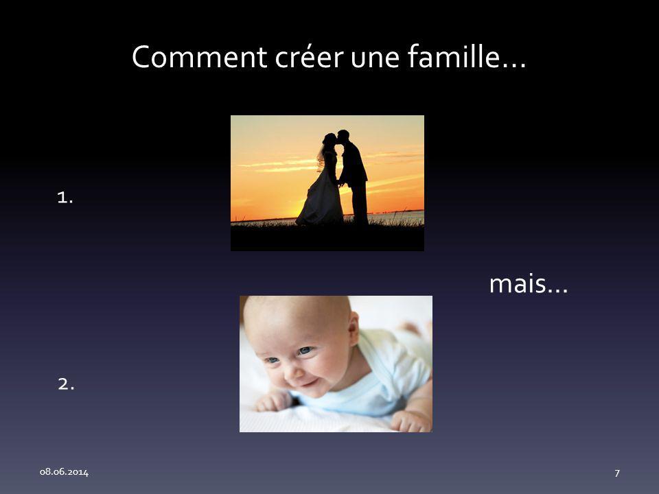 Comment créer une famille...