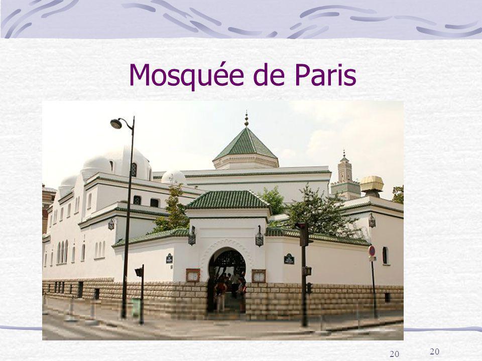 Mosquée de Paris 20