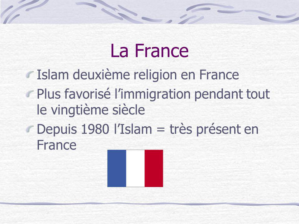 La France Islam deuxième religion en France