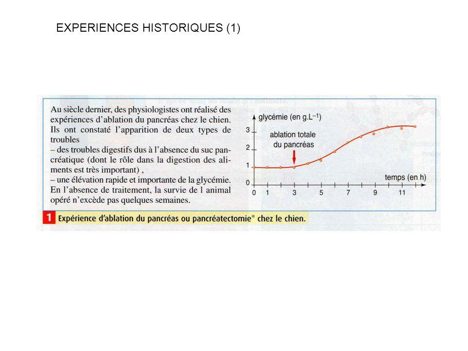 EXPERIENCES HISTORIQUES (1)