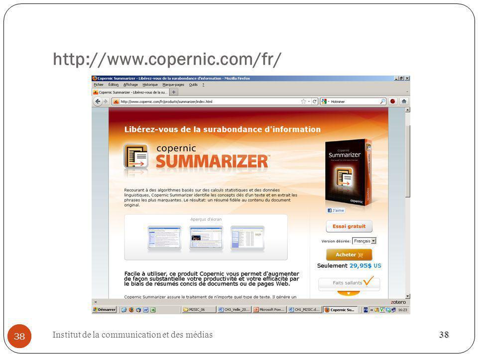 http://www.copernic.com/fr/ 38