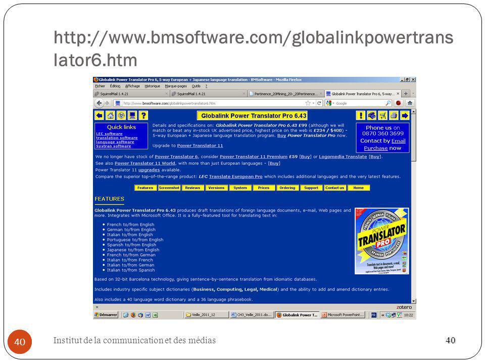 http://www.bmsoftware.com/globalinkpowertranslator6.htm 40