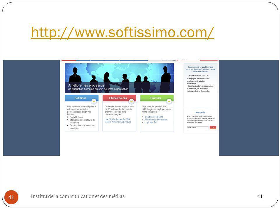 http://www.softissimo.com/ 41