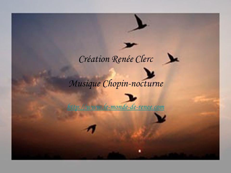 Création Renée Clerc Musique Chopin-nocturne http://www