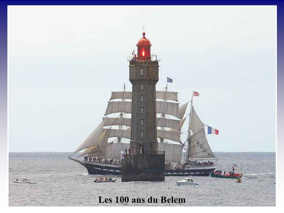 Les 100 ans du Belem
