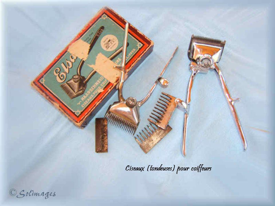 Ciseaux (tondeuses) pour coiffeurs