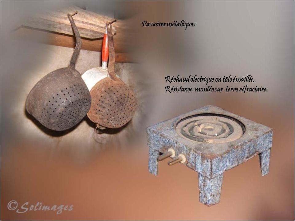 Passoires métalliques