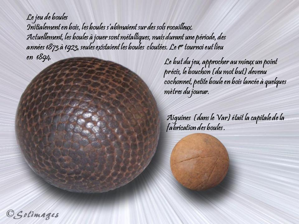 Le jeu de boules