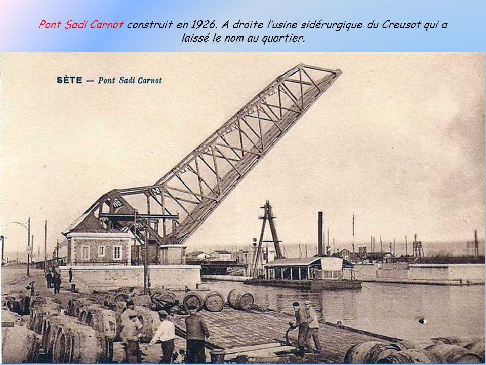 Pont Sadi Carnot construit en 1926