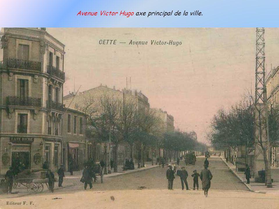 Avenue Victor Hugo axe principal de la ville.