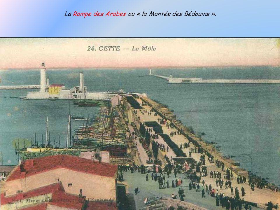 La Rampe des Arabes ou « la Montée des Bédouins ».