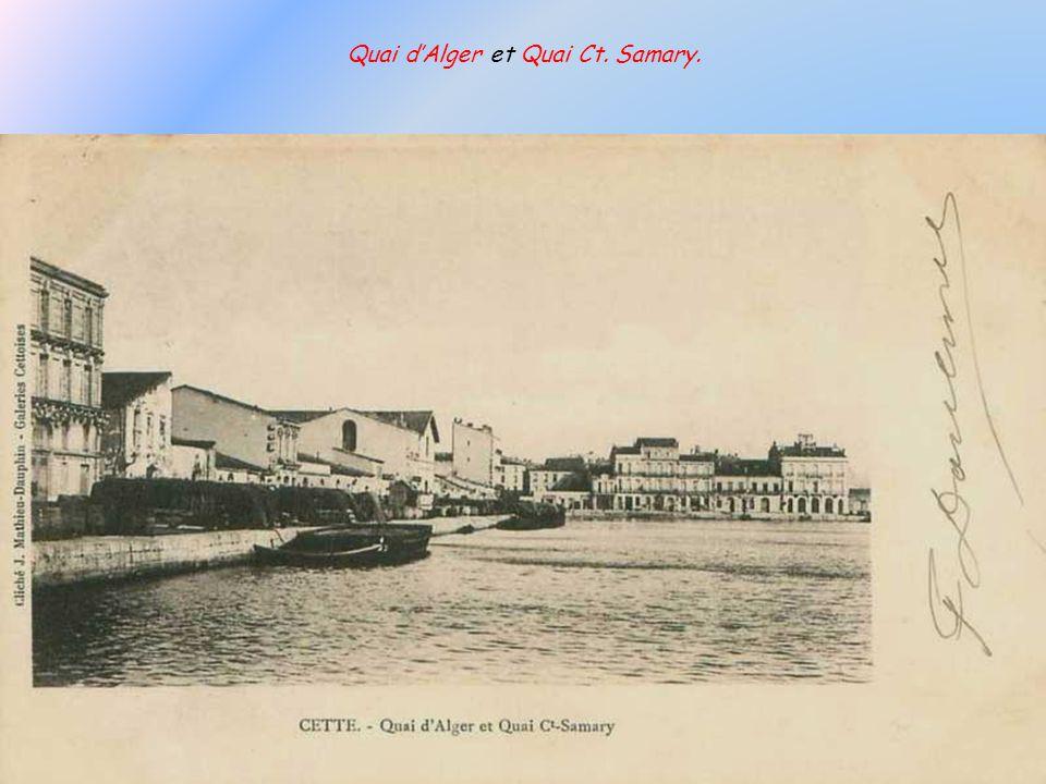 Quai d'Alger et Quai Ct. Samary.