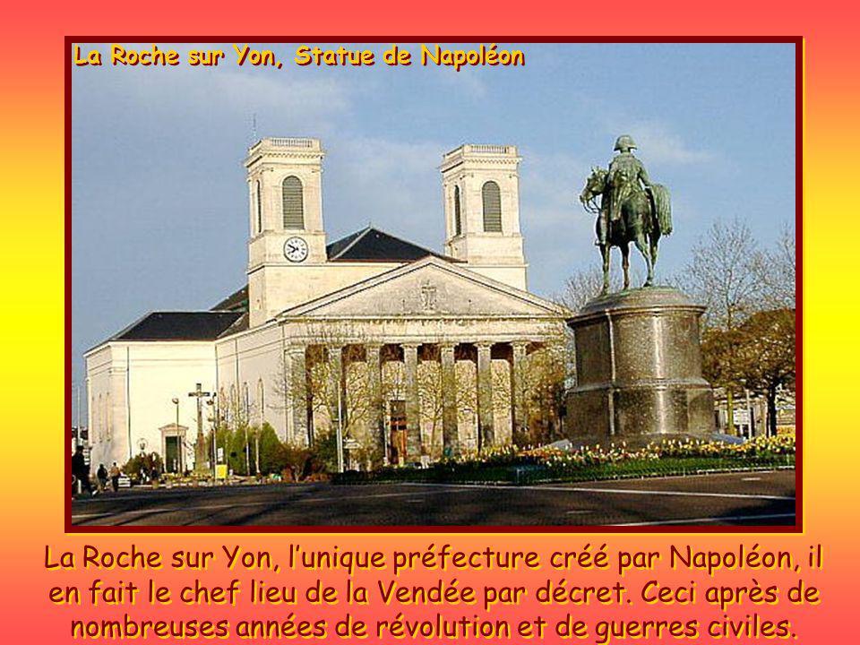 La Roche sur Yon, Statue de Napoléon