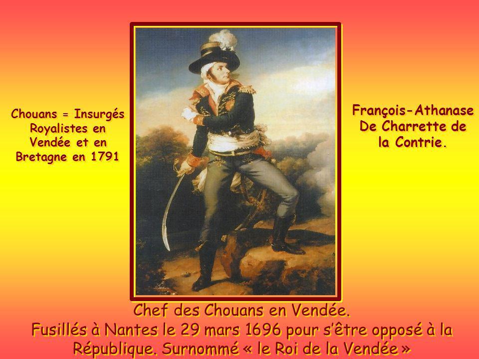 De Charrette de la Contrie. Vendée et en Bretagne en 1791