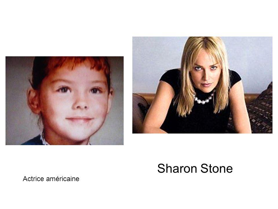 Sharon Stone Actrice américaine