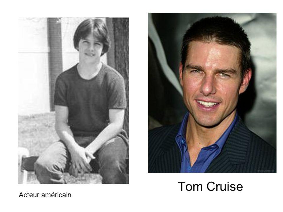 Tom Cruise Acteur américain