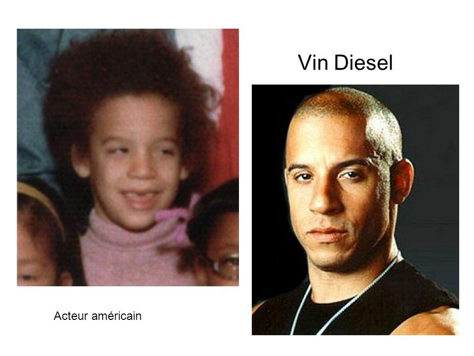Vin Diesel Acteur américain