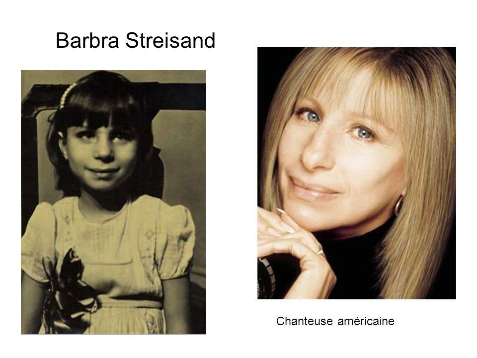 Barbra Streisand Chanteuse américaine