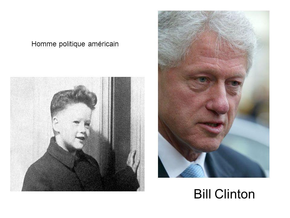 Homme politique américain