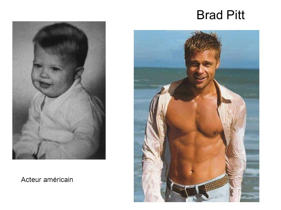 Brad Pitt Acteur américain