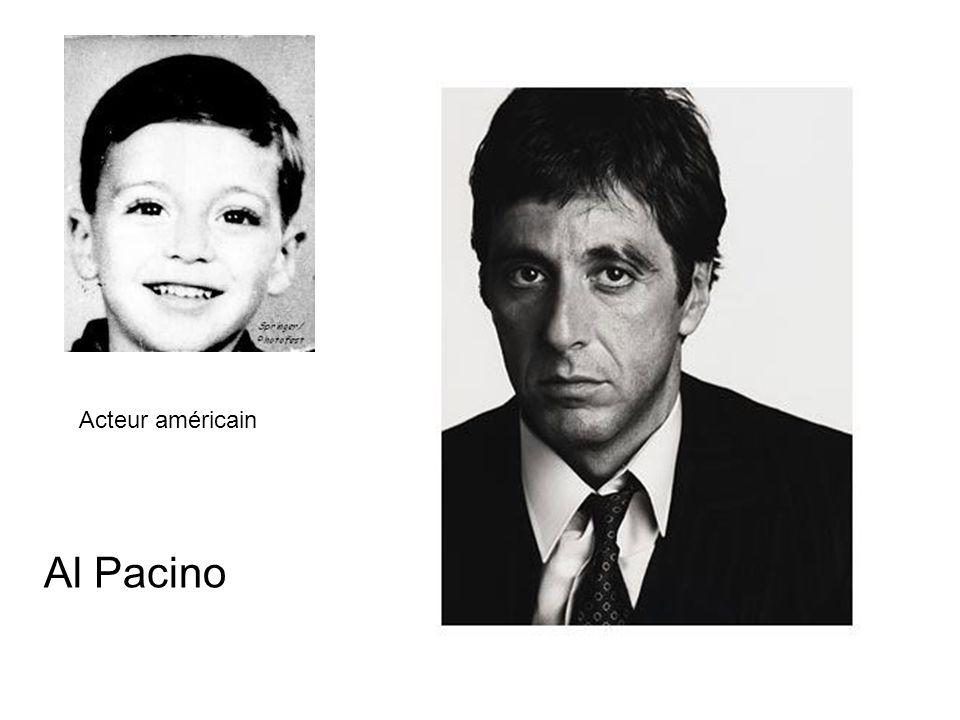 Acteur américain Al Pacino