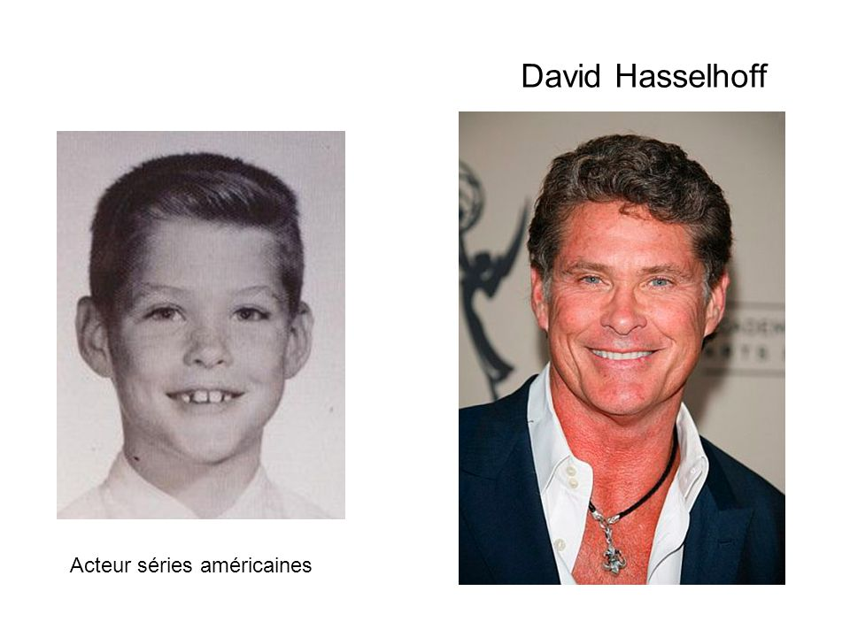 David Hasselhoff Acteur séries américaines