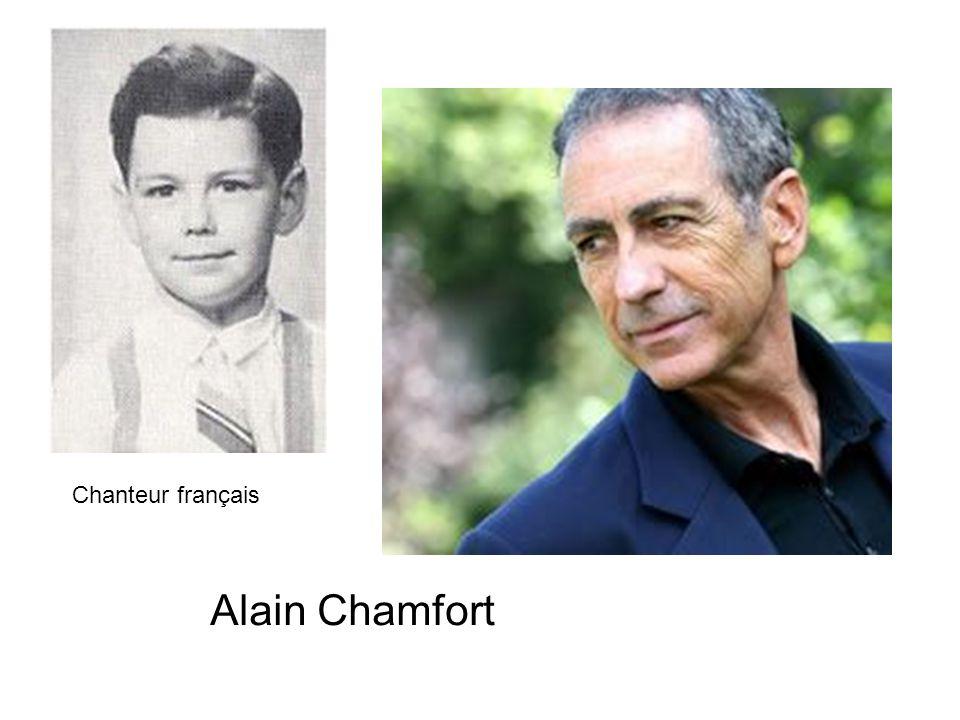 Chanteur français Alain Chamfort