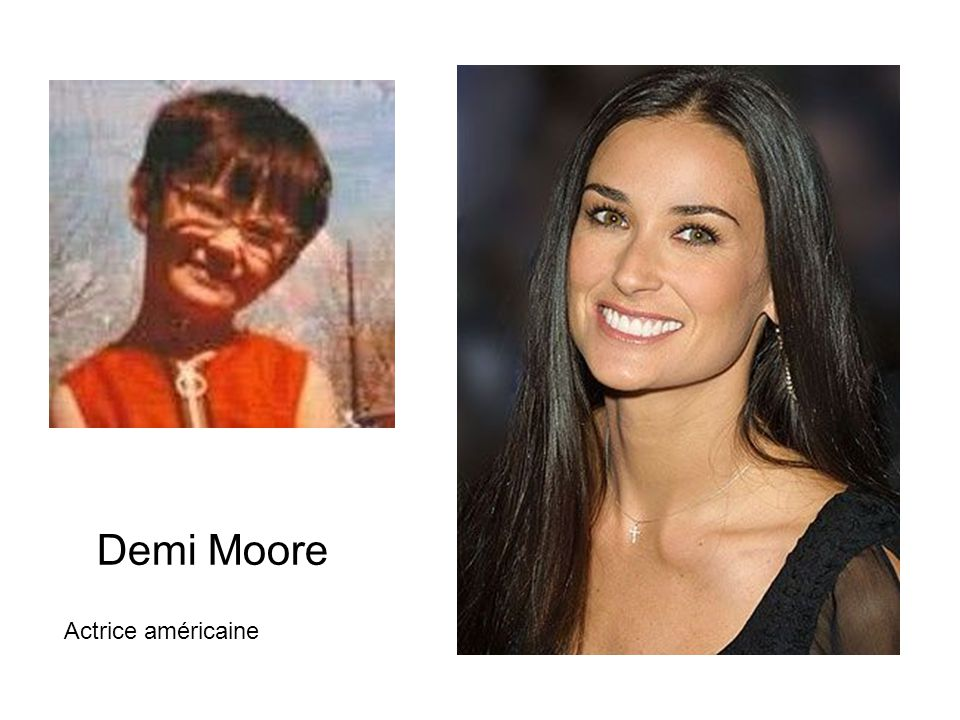 Demi Moore Actrice américaine