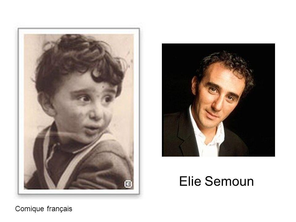 Elie Semoun Comique français