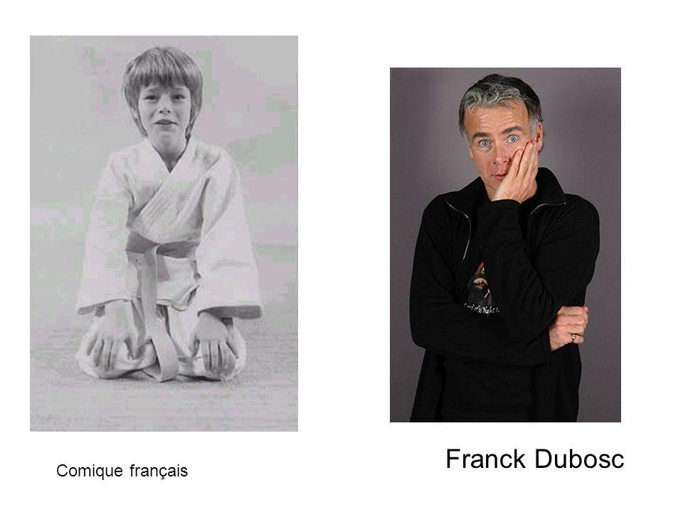 Franck Dubosc Comique français