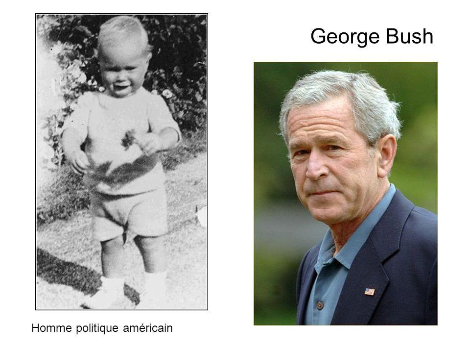George Bush Homme politique américain