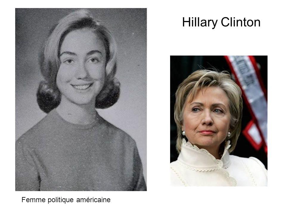 Hillary Clinton Femme politique américaine