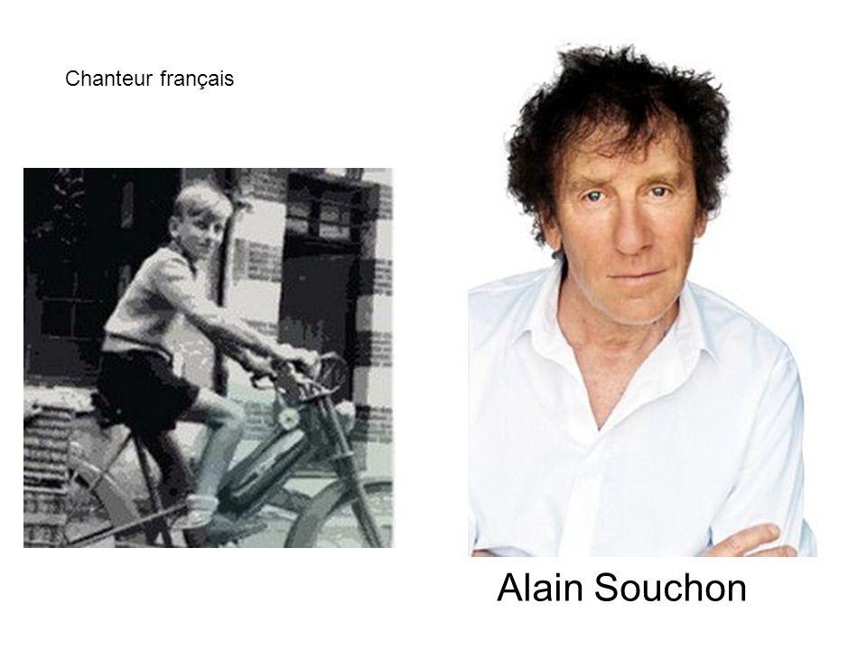 Chanteur français Alain Souchon