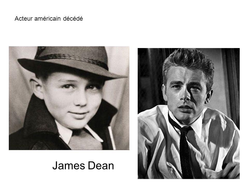 Acteur américain décédé