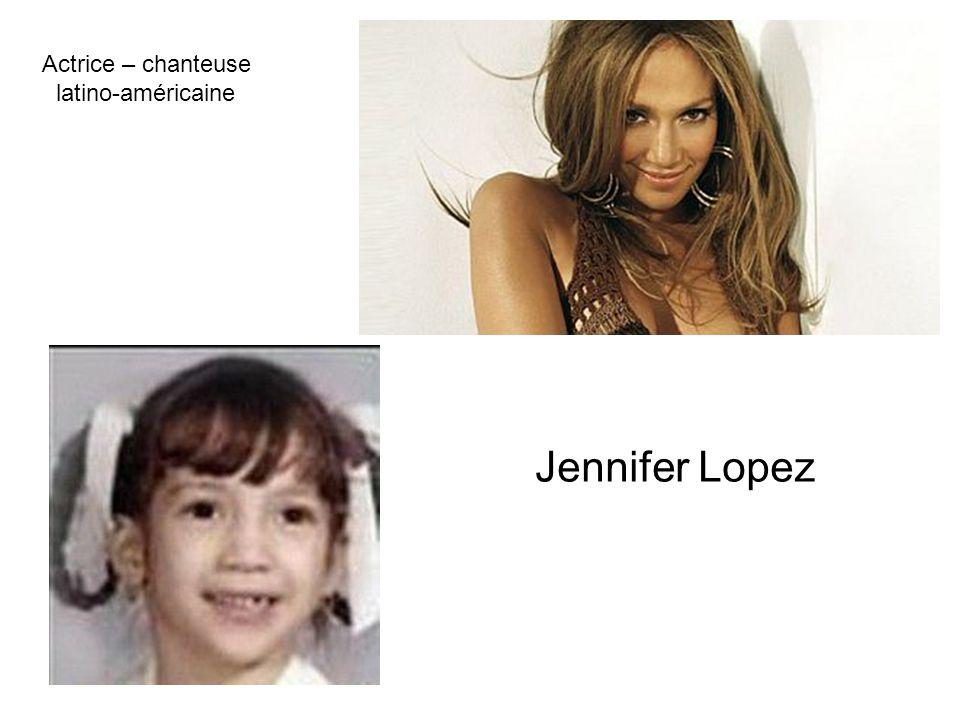 Actrice – chanteuse latino-américaine Jennifer Lopez