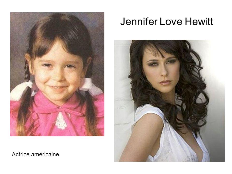 Jennifer Love Hewitt Actrice américaine