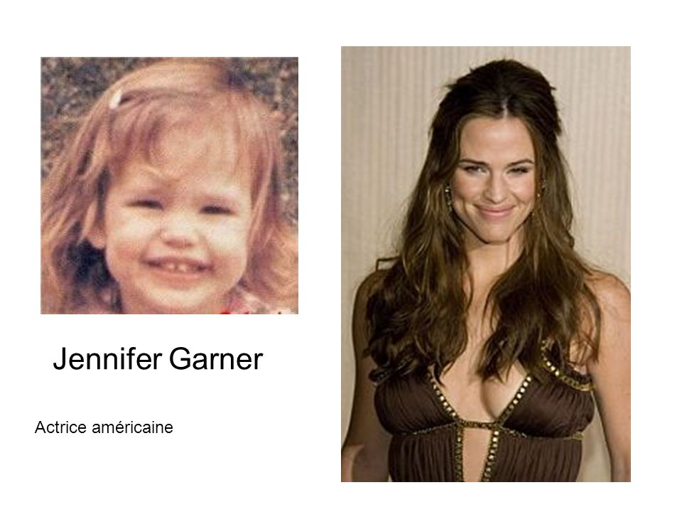 Jennifer Garner Actrice américaine