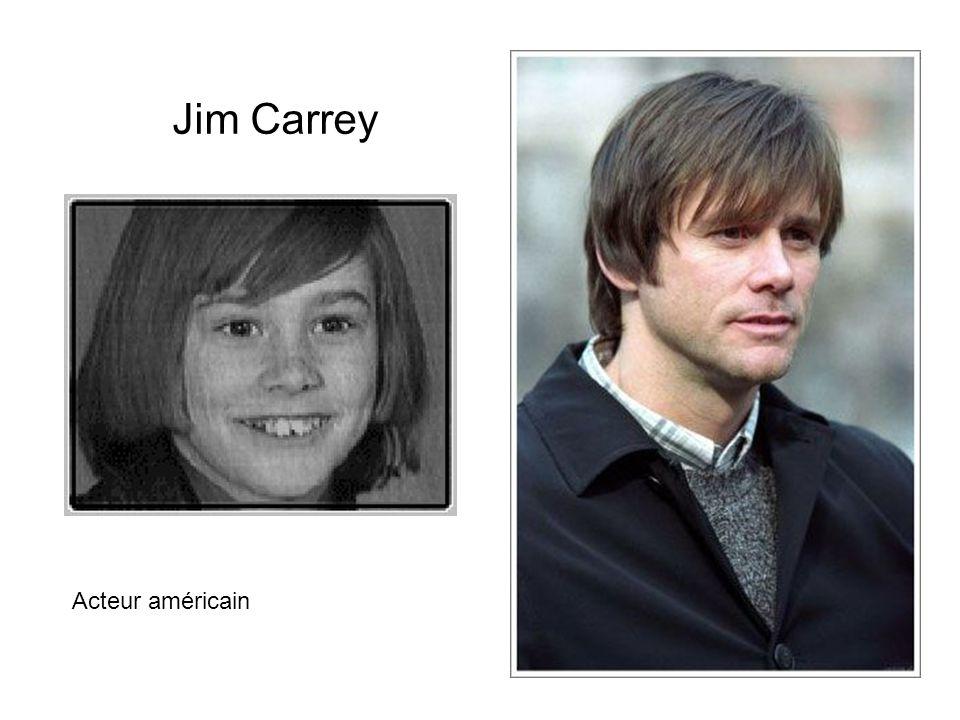 Jim Carrey Acteur américain