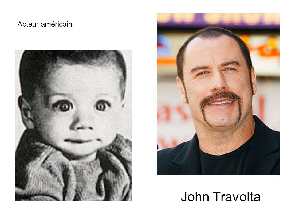Acteur américain John Travolta
