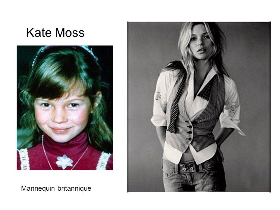 Kate Moss Mannequin britannique