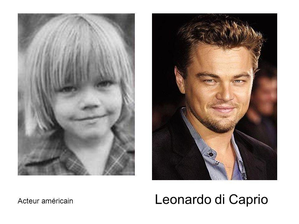 Leonardo di Caprio Acteur américain