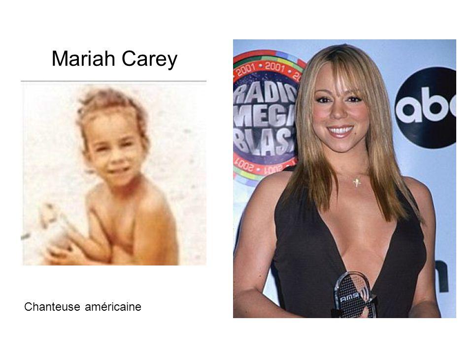 Mariah Carey Chanteuse américaine