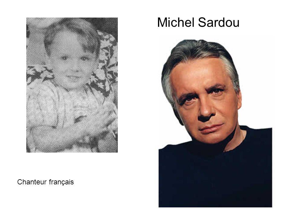 Michel Sardou Chanteur français
