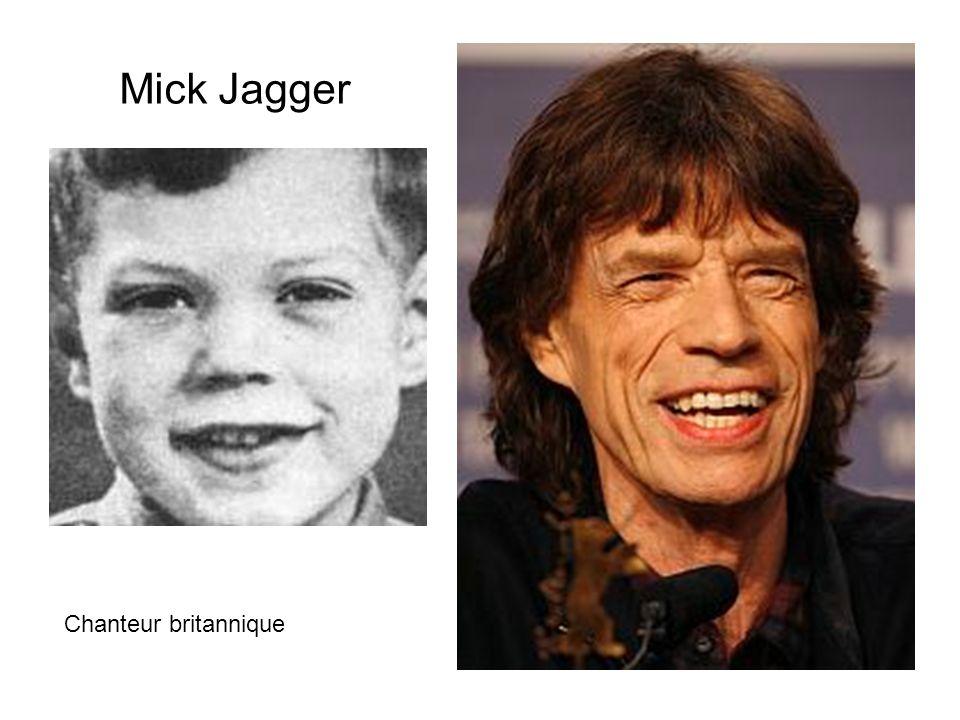 Mick Jagger Chanteur britannique
