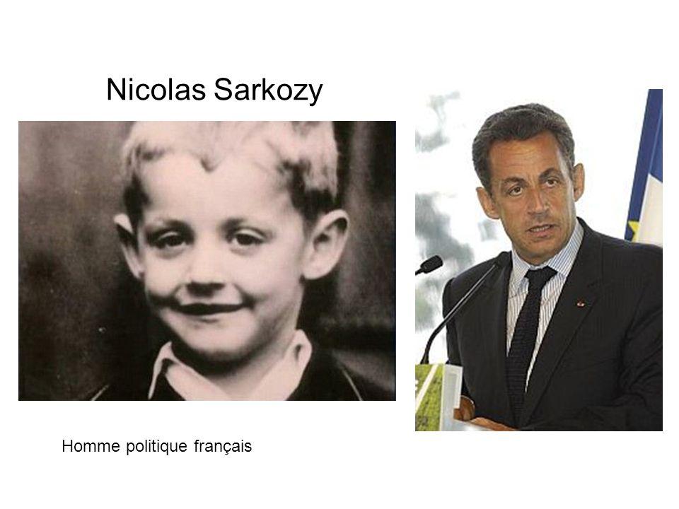 Nicolas Sarkozy Homme politique français