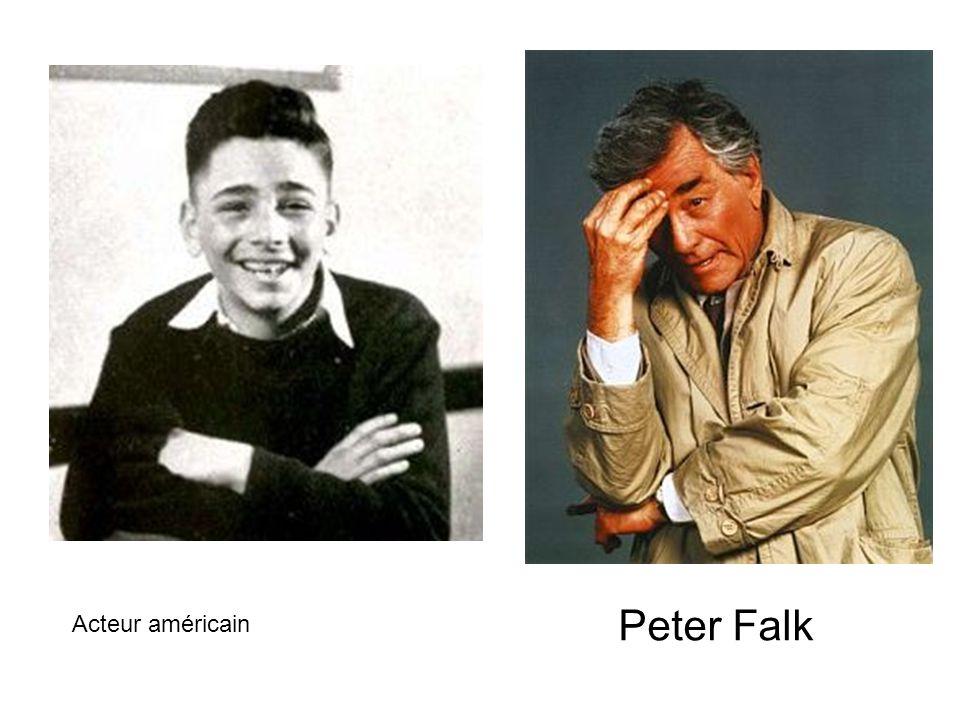 Peter Falk Acteur américain